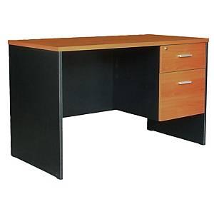 ACURA TWC-1202-60(F) OFFICE TABLE CHERRY/BLACK