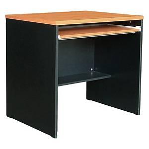 ACURA WCTC80(F) COMPUTER TABLE CHERRY/BLACK