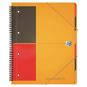 OXFORD 1802 ORGANISER BK A4+ LINED 160P