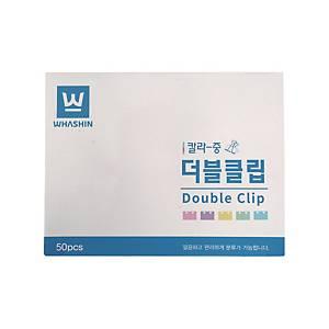 BX50 WHASHIN WS103 FOLDBACK CLIP 25MM ASS