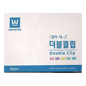 WHASHIN WS102 FOLDBACK CLIP 40MM ASS