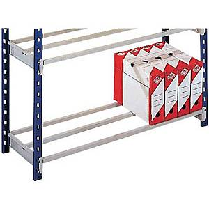 Gitterboden Lagerregal Paperflow 5172, 100x70x100 cm (BxTxH), Packung à 2 Stück