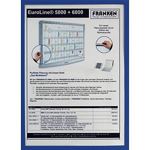 Infotasche Franken ITSA4M03, A4, magnethaftend, blau