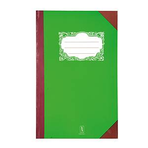 5/100 HARD COVER NOTEBOOK RULED 210MM X 330MM 70G 100 SHEETS