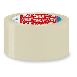 Cinta adhesiva de embalaje Tesa 4089 - 50 mm x 132 m - transparente