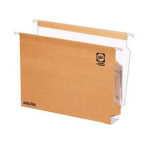 PK 25 LATERAL FILE A4 20MM KRAFT/WH
