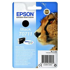 Epson T071140 ink cartridge black [7,4ml]