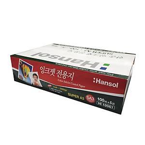 한솔 잉크젯 전용지 A3+ 150g 100매