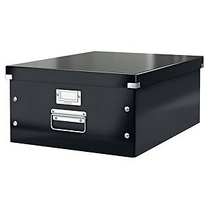 LEITZ WOW CLICK AND STORE LARGE ARCHIVING BOX BLACK
