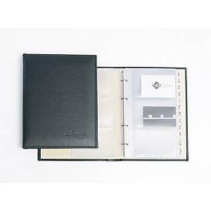 Recarga de 10 micas para porta-cartões Pardo - 120 cartões