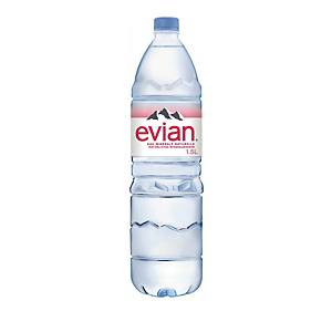 Evian Mineralwasserflasche 1,5l - Packung à 6 Flaschen