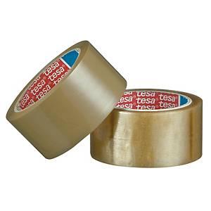 Cinta adhesiva de embalaje Tesa 4089 - 50 mm x 132 m - marrón