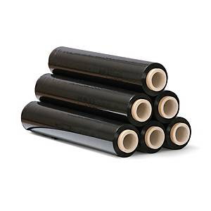 Stretch film, 23 µm, 50 cm x 151 m, black