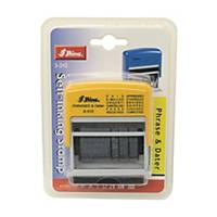 Shiny S-312 12合1 多用途日期印 3mm