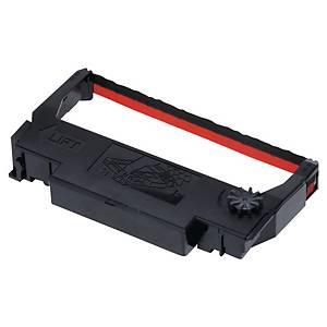 Ruban Epson M-300/TM-U210/220/230/375 - ERC 38BR - noir/rouge