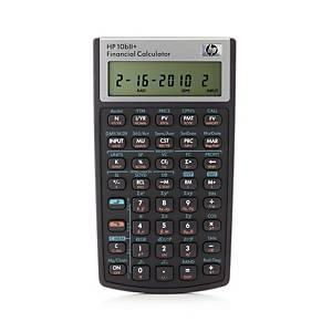 HP 10BII+ financial calculator - 12 numbers