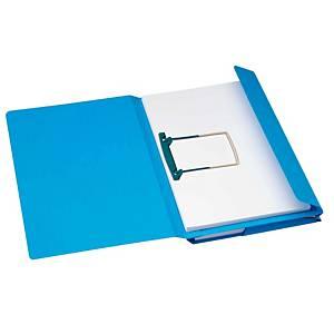 Jalema Secolor chemises combinées 23x35cm carton 270g bleu - paquet de 40