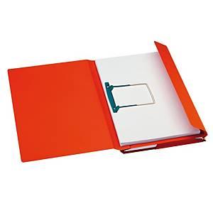 Jalema Secolor chemises combinées 23x35cm carton 270g rouge - paquet de 40