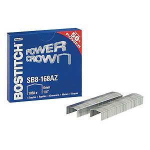 Bostitch agrafes SB8 galvanisées 30 pages - boîte de 1050