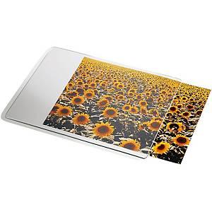 Mausmatte Photo 24x19 cm, transparent, Hintergrund weiss