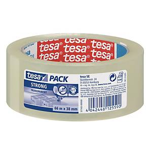 PACKAGING TAPE ECOLOG. 66X38 CLEAR