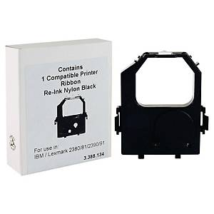 Nastro compatibile Ibm/Lexmark 23XX/24XX nero