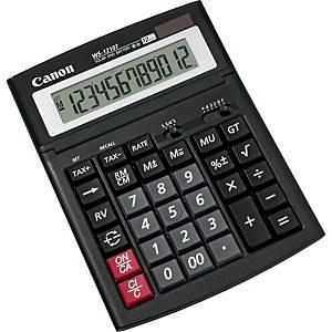 Calculatrice de bureau Canon WS-1210T, 12 chiffres, noir