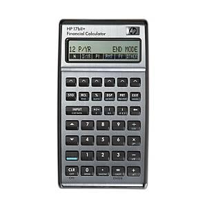 Calculatrice HP 17BII+, commerciale, version allemande