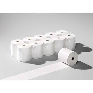 Rouleaux de papier thermique 76x70 mm x 40 m, 60 g/m2, blanc