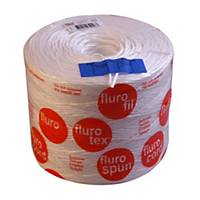 Ficelle Flurofil, ø 3,0 mm, 900 m, 2,08 kg, blanc
