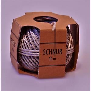 Schnur-Becher Flurocord 2,0 mmx30 m, beige