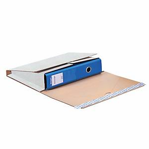 Package for Mailing Files, Brieger, 32.1 x 29 x 0-7.5 cm, white (66280)
