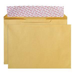 Enveloppes Elco Valeur, B4, sans fenêtre, 120 g/m2, brun