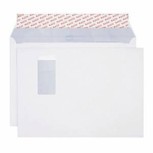 Enveloppes Elco Premium, C4, fenêtre à droite, 120 g/m2, blanc