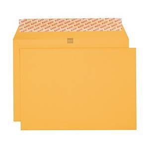 Enveloppes Elco Banque, B5, sans fenêtre, 120 g/m2, jaune