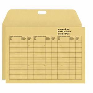 Enveloppe Elco Interne Post 116789, C4, 120 g/m2, marron, paq. 50unités
