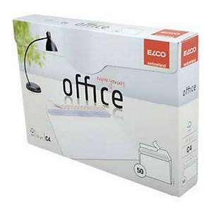 ELCO 74538 obálky, C4 120G s krycí páskou , bílé, box 50 ks