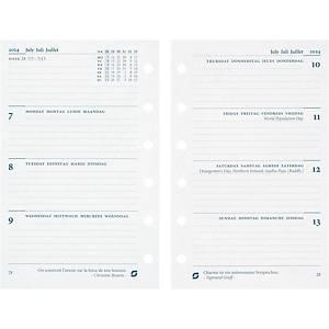Feuilles hebdomadaires Succes Junior 842207, 1 semaine sur 2 pages, 4 langues