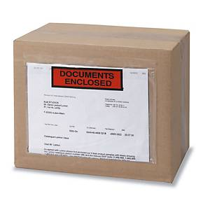 DOCUMENT ENCLOSED ENVELOPE PRINTED 161X110 - PACK OF  250