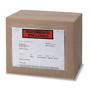 Caixa 250 envelopes para envio autocolantes - 160 x 225 mm