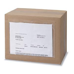 Caja de 250 sobres de envío autoadhesivos - 160 x 225 mm