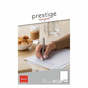Schreibblock Elco Prestige A4, 80 g/m2, blanko, 50 Blatt