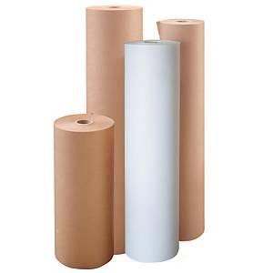 Rollo de papel de embalaje kraft extra verjurado - 1100 mm x 305 m - 75 g/m²