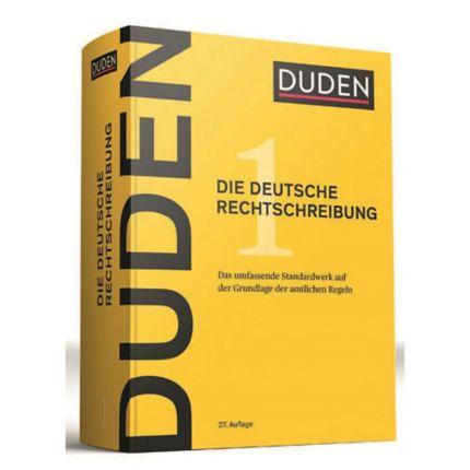 Duden Rechtschreibung Band 1 Deutsch