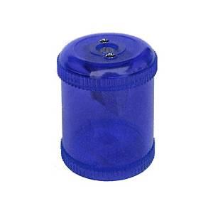 Dosen-Spitzer Dux 3307N, 1 Loch, Kunststoff, blau