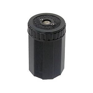 Dosen-Spitzer Dux 9207N, 1 Loch, Duroplast, schwarz