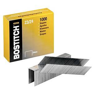 Agrafe Bostitch 23/24 - 24 mm - boîte de 1000