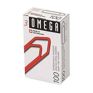 Trombones Omega 3/100 emb. de 100 pcs.