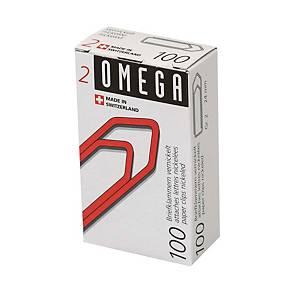 Trombones Omega 2/100 emb. de 100 pcs.
