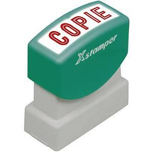Wort-Stempel X-Stamper, Copie, rot